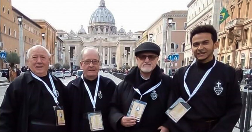"Passionists commissioned as ""Missionaries of Mercy"""