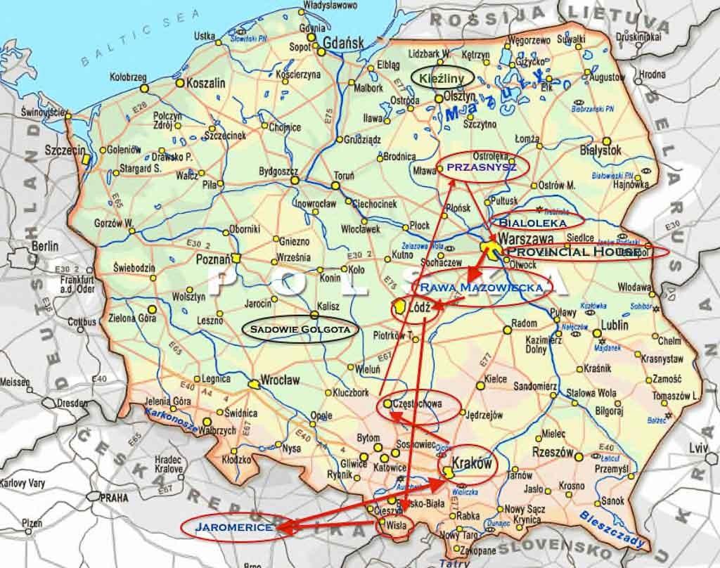 Poland Visita Mappa-1