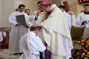 PRIESTLY ORDINATION IN CAJICÁ, COLOMBIA
