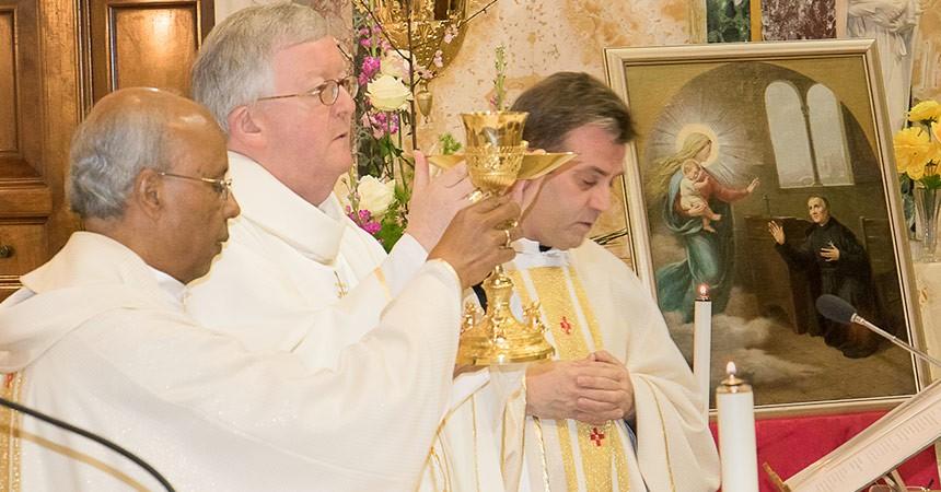 Conclusione della novena di preghiera per la causa della Canonizzazione del Beato Domenico Barberi.