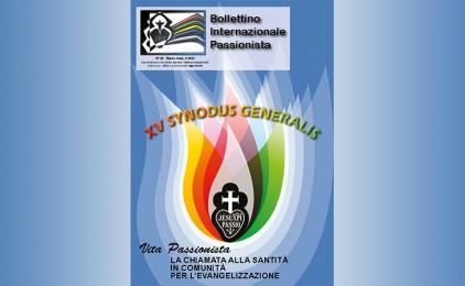 Nuovo Numero del Bollettino Internazionale Passionista (BIP)