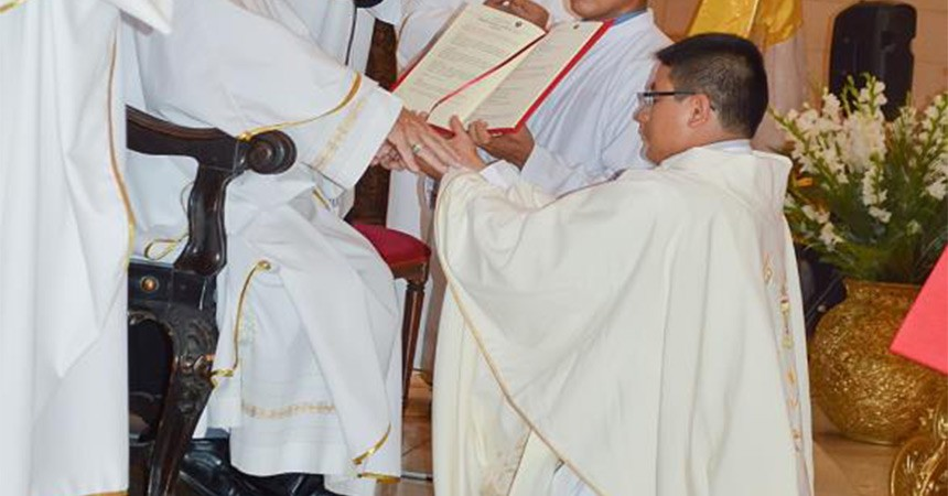 Priestly Ordination in Peru