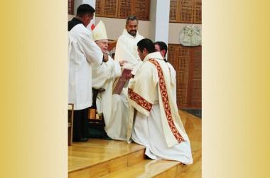 Ordenación diaconal de JESÚS MARÍN PÉREZ CP
