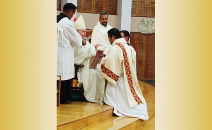 Ordinazione diaconale di JESÚS MARÍN PÉREZ CP