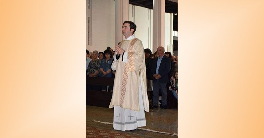L'Ordinazione Diaconale di Conf. Federico di Gesù