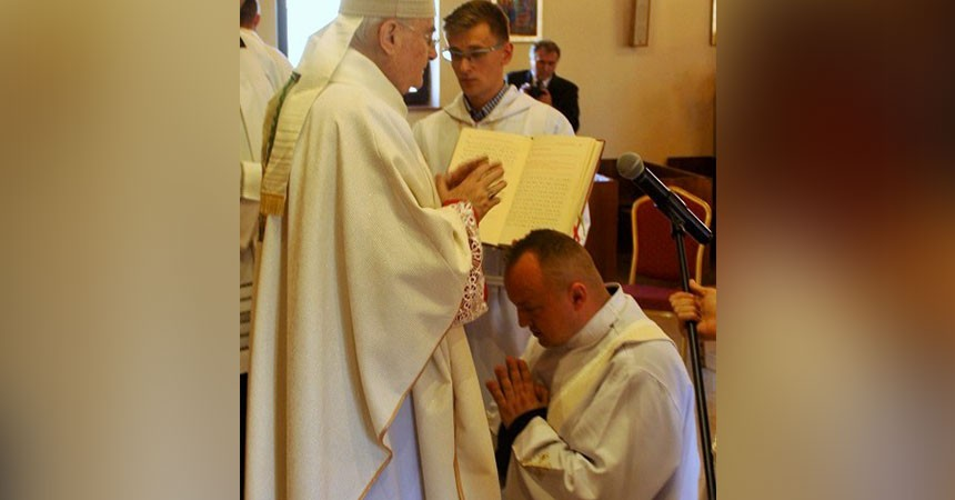 Priestly Ordination IN POLAND (ASSUM) <br> P. RADOSŁAW MUCHA CP.