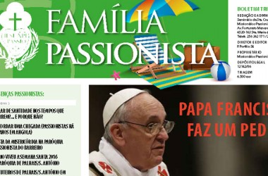 "Newsletter of Passionists in Portugal, ""Família Passionista"""