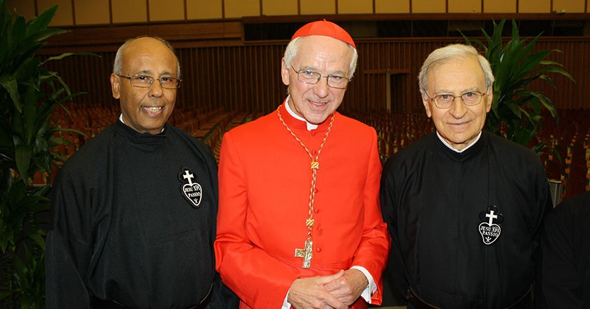 NEW CARDINAL TITULAR of the  BASILICA of Sts. JOHN AND PAUL