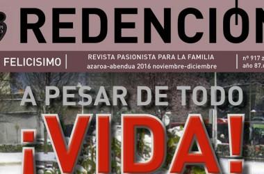 """Nuovo numero della rivista """"Redención"""""""