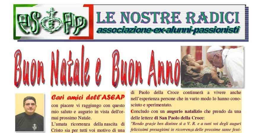 Bollettino Natalizio ASEAP