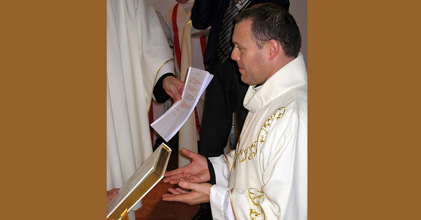 Diaconate Ordination of FRANCESCO PAGLIAROLI (MAPRAES)