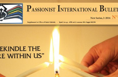 New Edition of the Passionist International Bulletin (PIB)