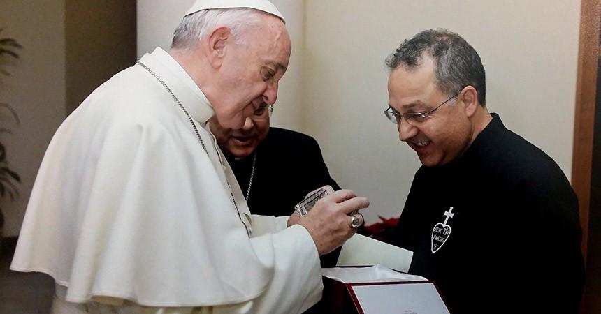 Felicitaciones de Navidad del Papa Francisco a los Pasionistas