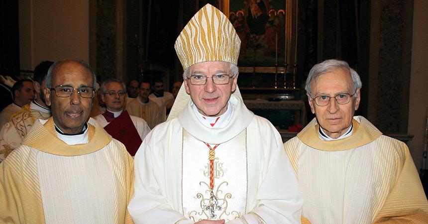 Il Cardinale Jozef De Kesel prende possesso della Basilica dei Santi Giovanni e Paolo
