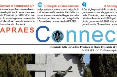 """Bollettino """"MAPRAES CONNECT""""<br>Marzo-Aprile 2017"""