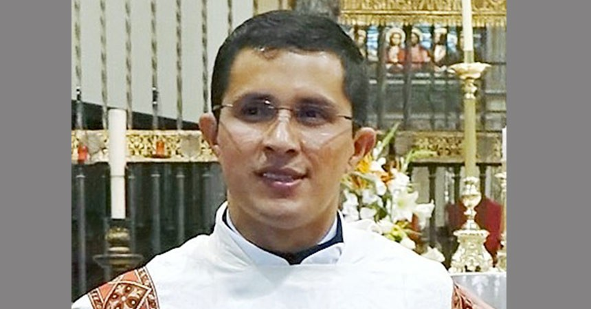 DIACONATE ORDINATION Carlos Mego Hurtado (SCOR)
