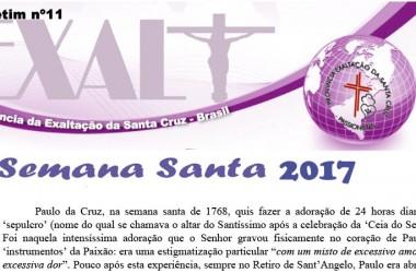 Boletim da Província EXALT do Brasil