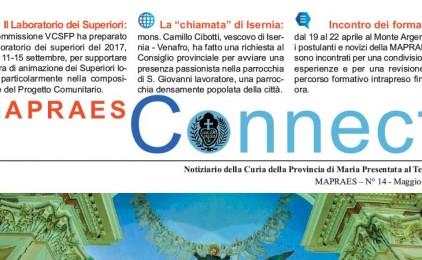 """Bollettino """"CONNECT"""" Maggio 2017"""