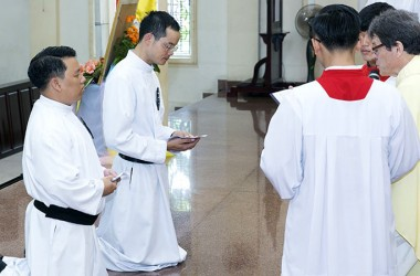 Perpetual Profession in the SPIR Province