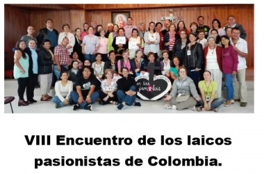 VIII Encuentro de los laicos pasionistas de Colombia