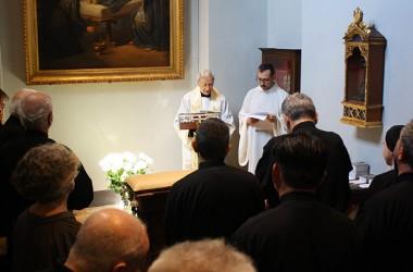 Benedizione e inaugurazione della Stanza restaurata di S. Paolo della Croce