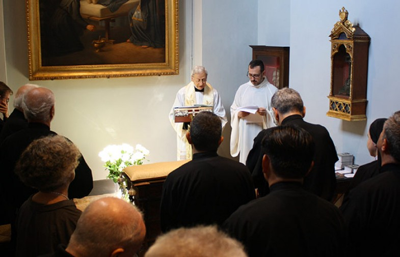 Blessing and Inauguration of the restored Room of St. Paul of the Cross