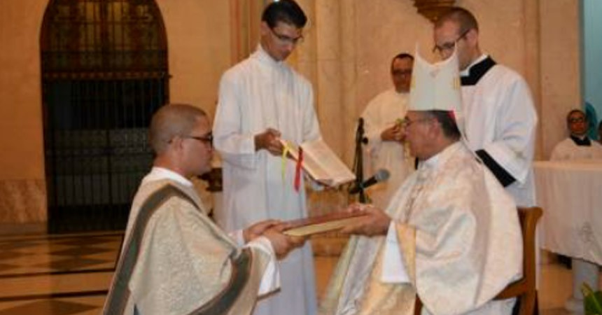 DIACONATE ORDINATION<br> Fr. YOEL ANGEL FLORES VALDES (SCOR)