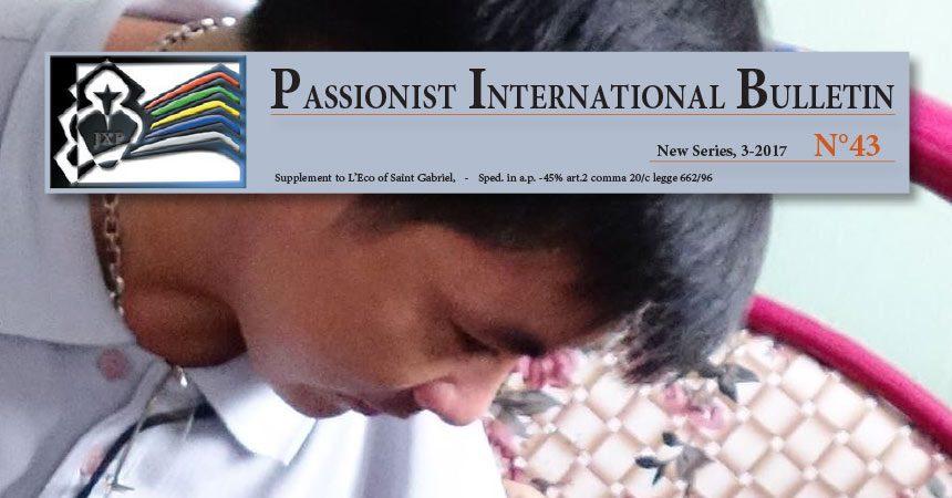 Passionist International Bulletin<br>N°43 (3-2017)