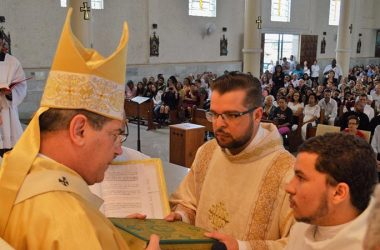 DIACONATE ORDINATION<br>Daniel Rodrigues Barros