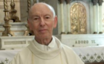 Death Notice<br> Fr. ALCIDES DAVID BASSANI (GETH)