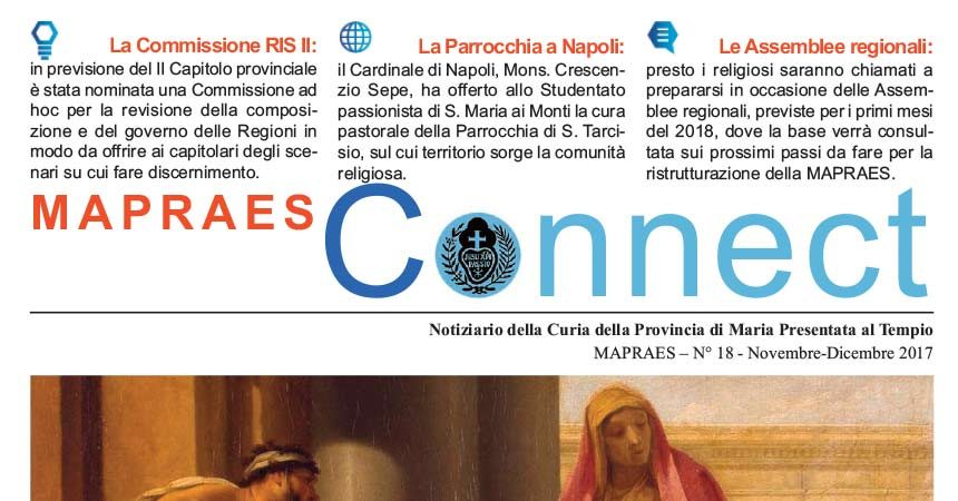 "Bollettino ""MAPRAES Connect""<br>Novembre – Dicembre 2017"