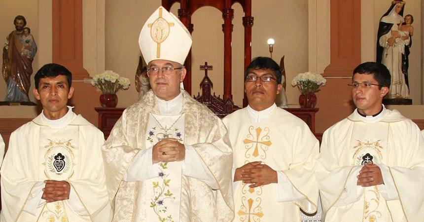 ORDINAZIONI PP. Ronal e Carlos Mego Hurtado e Diacono José Luis Cueva (SCOR)