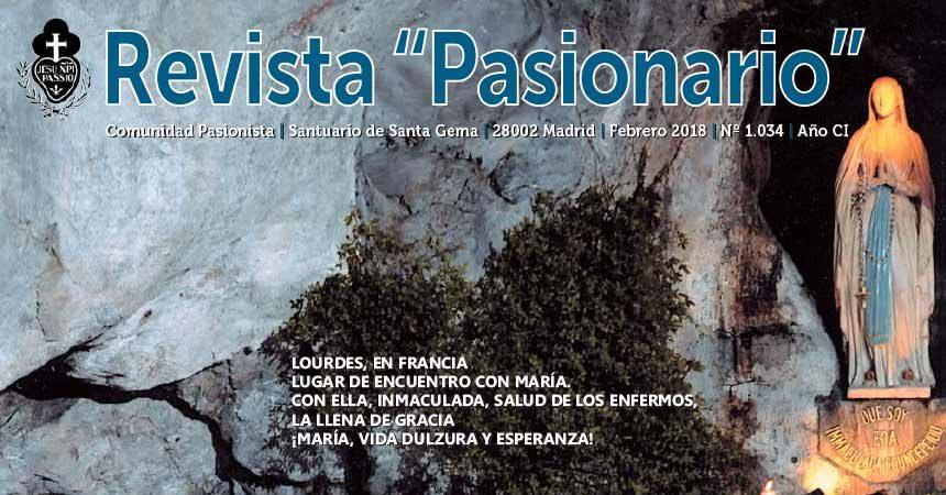 """Revista """"PASIONARIO""""<br>Febrero 2018"""