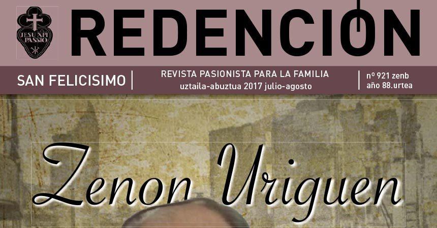 """Revista """"REDENCIÓN""""<br>Julio – Agosto 2017"""