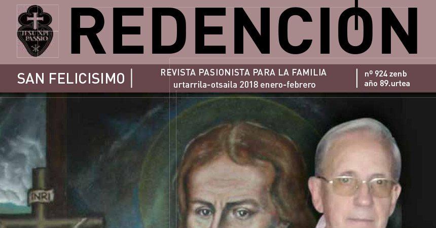 """Revista """"REDENCIÓN""""<br>Enero – Febrero 2018"""