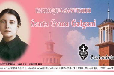 "Revista ""SANTA GEMA""<br>Febrero 2018"