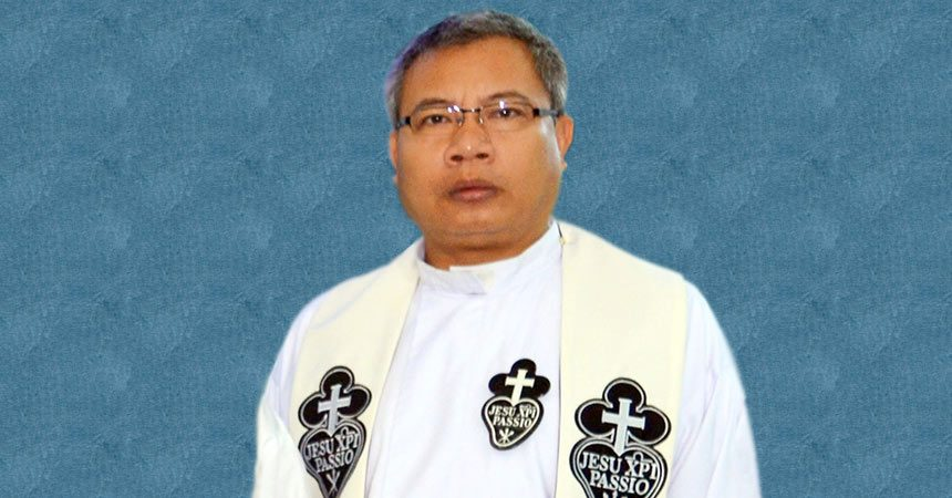 DEATH NOTICE<br>Fr. Markus Adu (REPAC)