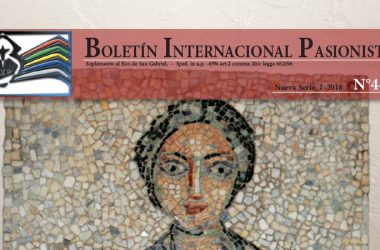 Boletín Internacional Pasionista<br>N°44 (1-2018)