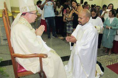 PRIESTLY ORDINATION<br>Fr. Marcel Alcleante Alexandre de Sousa (GETH)