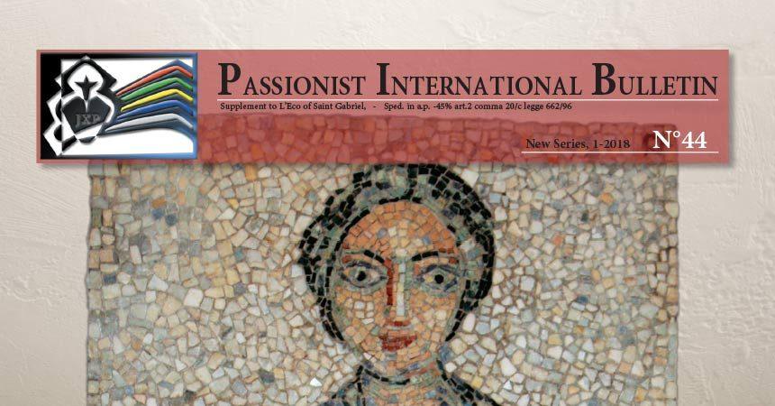 Passionist International Bulletin<br>N°44 (1-2018)