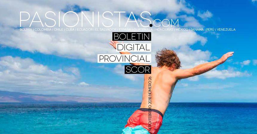"Boletin ""PASIONISTAS.COM""<br>Enero – Febrero 2018"