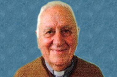 DEATH NOTICE<br>Fr. Mario Sanguinetti Alberti (SCOR)