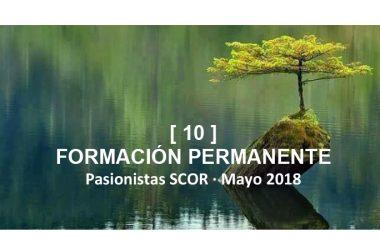 Boletín SCOR: FORMACÍON PERMANENTE [10]