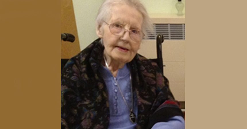 DEATH NOTICE<br>Sr. Monica Higgins CP
