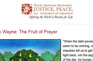 North American Passionists JPIC<br>April 2018