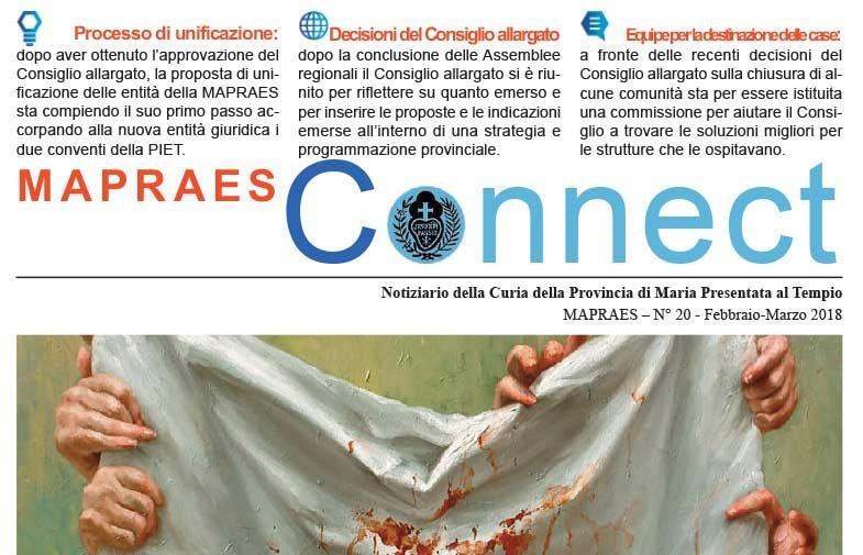 """Bollettino """"MAPRAES Connect""""<br>Febbraio – Marzo 2018"""