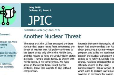 Passionist JPIC Australia<br>May 2018