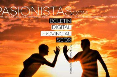 "Boletin ""PASIONISTAS.COM""<br>Marzo – Abril 2018"