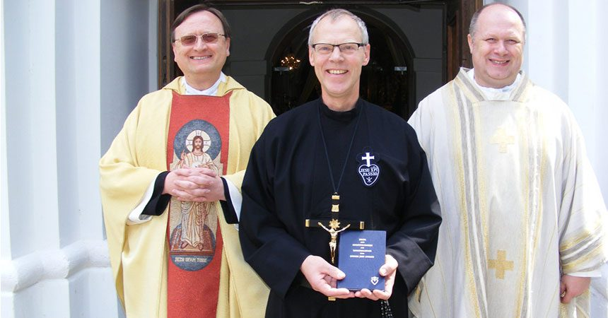 PROFESSION<br>Brother Arthur Reuter (VULN)