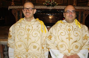 DIACONATE ORDINATION <br>Deacons Giovanni Benenati and Ippolito Di Maggio (MAPRAES)